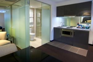 A kitchen or kitchenette at Quest Hawthorn