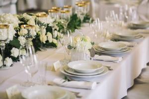 Restauracja lub miejsce do jedzenia w obiekcie Pałac Bursztynowy