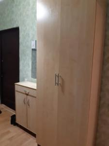 A bathroom at Апартаменты на Выхино