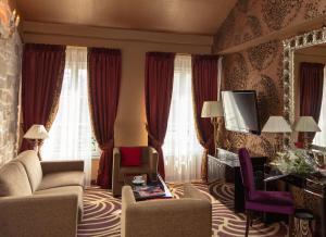 Гостиная зона в Hotel Du Beaumont