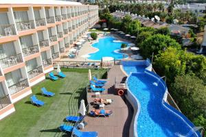 A view of the pool at Avlida Hotel or nearby