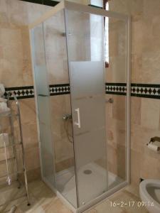A bathroom at Hotel Balneario De Sierra Alhamilla