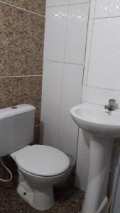 A bathroom at Casa Da Lucia