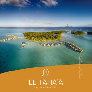 A bird's-eye view of Le Taha'a by Pearl Resorts