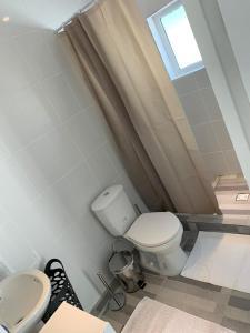 Um banheiro em Apartment Curacao