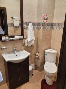 Ванная комната в Гостиный Двор Алтай