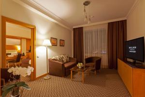 Гостиная зона в Отель Милан