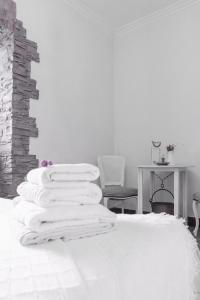 Cama o camas de una habitación en Arriola Txiki