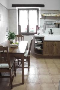 Una cocina o zona de cocina en Arriola Txiki