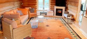 Ein Sitzbereich in der Unterkunft By Boock's