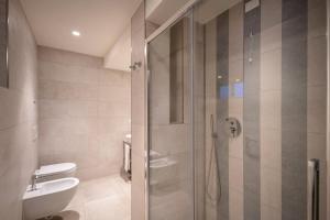 Koupelna v ubytování Stellamare