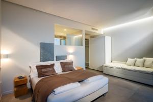 Postel nebo postele na pokoji v ubytování Stellamare