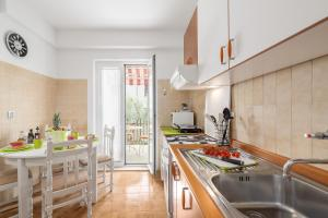 A kitchen or kitchenette at Apartments Nono