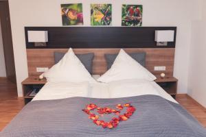 Ein Bett oder Betten in einem Zimmer der Unterkunft La Stella