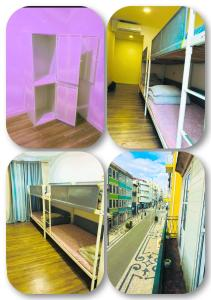 A bunk bed or bunk beds in a room at Majestic Hostel Porto