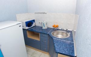 Кухня или мини-кухня в Гостиничный Комплекс Лучеса