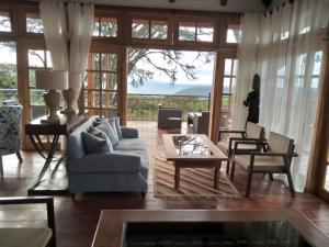 A seating area at Lions Paw Ngorongoro
