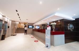 El lobby o recepción de Hotel Spa Republica