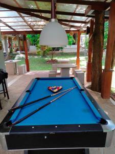 A pool table at Nil Diya Mankada Safari Lodge
