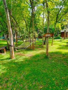 A garden outside Nil Diya Mankada Safari Lodge