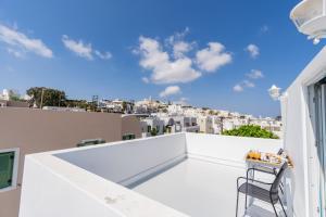 Balcon ou terrasse dans l'établissement Central Fira Hotel