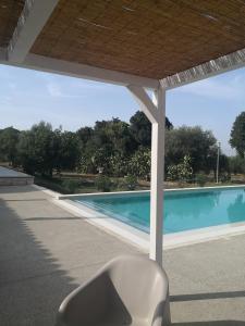 The swimming pool at or near Dimora di Dante
