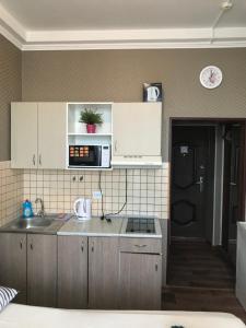 Кухня или мини-кухня в Апарт-отель Светлана