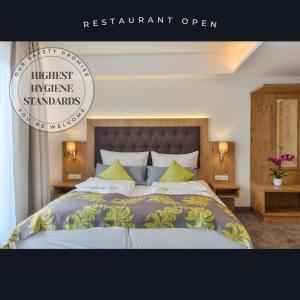 Cama o camas de una habitación en Haunstetter Hof