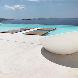 The swimming pool at or near Kouros Hotel & Suites
