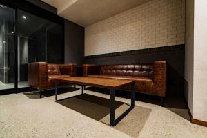 A seating area at Randor Hotel Namba Osaka Suites