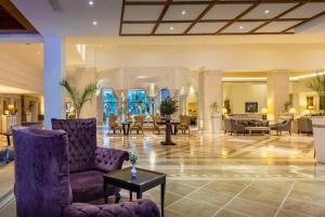 The lobby or reception area at Hasdrubal Thalassa & Spa Djerba