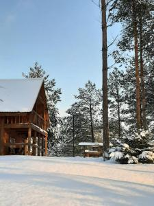 Holiday Home Atmatas during the winter
