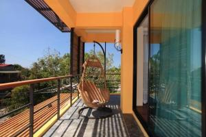 A balcony or terrace at Keeree Ele Resort