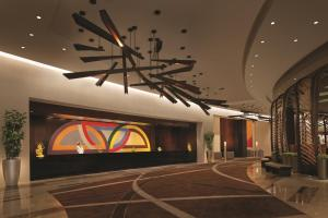 The lobby or reception area at Vdara Hotel & Spa at ARIA Las Vegas