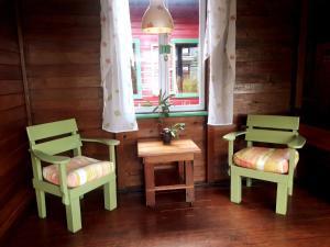 Zona de estar de Hostal Hansi