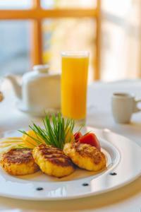 Opțiuni de mic dejun disponibile oaspeților de la Chateau Vartely