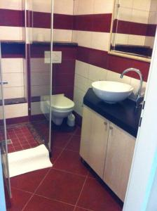 A bathroom at Apartments Mirjana