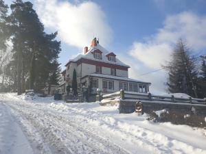 Hotel Panorama v zimě