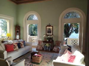 Area soggiorno di Villa La Moresca - Relais de Charme B&B - Adults Only