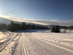 Golf du Rochat during the winter