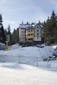 Apartmán u sjezdovky Javor during the winter
