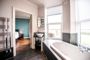 A bathroom at The Woolacombe Bay Hotel