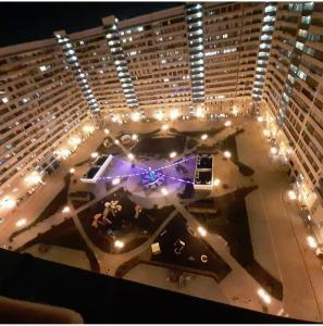 Вид на бассейн в Квартира в ЖК Центральный на Буденного или окрестностях