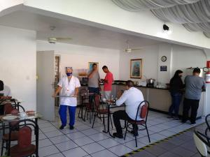 A restaurant or other place to eat at Hotel Paraiso
