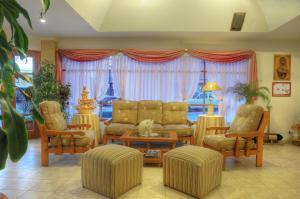 Un lugar para sentarse en Hotel Salerno