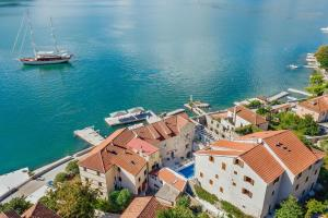 A bird's-eye view of Palazzo Radomiri Heritage Boutique Hotel