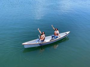 Canoë-kayak sur le terrain de le lodge ou à proximité