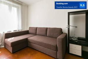 A seating area at Apartment on Kashirskoye 102