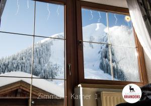 Gästehaus Branders in de winter