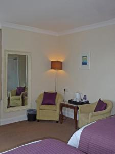 A seating area at Arisaig Hotel